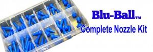 Blu-Ball Complete Nozzle Kit