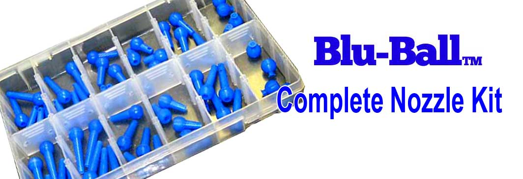 Blu-Ball Complete Nozzle Kit